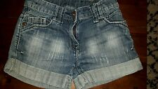Girls Next Denim Shorts -Age 7yrs