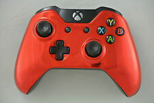 Microsoft Xbox One Wireless Controller Chrome Red Custom LED Mod