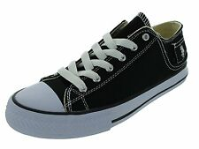 U.S. POLO ASSN. 217136-06A Mens PADDOCK LO CASUAL SHOES(BLACK/WHITE)