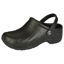 CLOGS Black ZONE Anywear Injected Clog w/Backstrap in Black