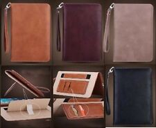Genuine Soft Leather Smart Case Stand Magnetic Cover for APPLE iPad Mini 1 2 3