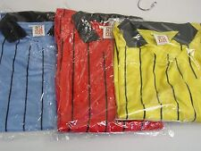 NEW VICI Soccer Referee Jersey Short Sleeve Adult Large #910S