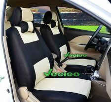 Custom Universal Car Seat Covers Including Front & Rear 5 Seats Car-Covers