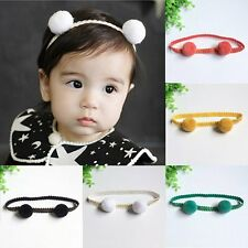 Lovely Baby Infant Girls Hair Band Ball Headband Hair Accessories Headwear Chic