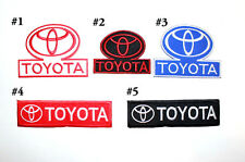 Toyota Motor Sports Car Automobiles Transportation Truck Embroidered Iron patch