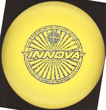 Pre-Release STAR MANTA 172g Innova Disc Golf NEW -Yellow with Silver event stamp