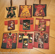 Lavender Filled Bags/Sachets/Pillows Oriental Kimono Designs Aromatic Gift Item