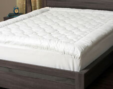 Plush Mattress Protector Cover Quilted Pillow Top Fitted Mattress Pad Bed Linen