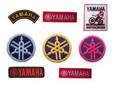 New Yamaha Logo Motocross Motorcycle Racing embroidered iron on or sew on patch.