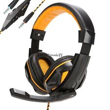 Hot   Surround Stereo Gaming Headset Headband Headphone with Mic for PC EA77