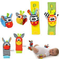 Cute Wrist & Foot Rattles For Infant/baby, Vibrant Hand/foot Finder Toys