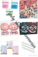 BABY SHOWER Christening  ACCESSORIES TEAM Pink Baby Girl DECORATIONS CONFETTI