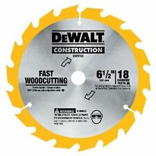 DeWalt FRAMING SAW BLADE 165mm Ultra Thin Kerf Blade  - 16 Tooth or 24 Tooth
