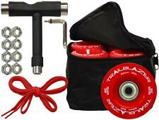 Red Outdoor Epic Quad Speed Roller Skate Wheels Deal W/ Bag, Bearings, Tool
