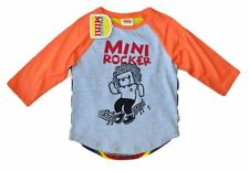 NWT HARAJUKU MINI 'TODDLERS' BY GWEN STEFANI MINI ROCKER PRINTED TEE IN ORANGE