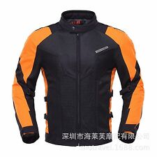 Motorcycle Jacket Racing Motocross Clothing Waterproof Breathable with Protector