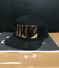 "NEW UNIT MENS ""RESET METAL"" HAT - BLACK/GOLD - OSFA - 100% GENUINE PRODUCT - NEW"