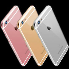 0.5mm Glossy Transparent Dust Plug Shockproof Case for iPhone 6 6s Plus Cover