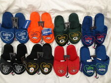 NFL Forever Collectibles Ladies Love Heart Slide Shoes Slippers
