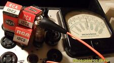 Hickok Tested 1½ Volt Tubes - NEW Old Stock