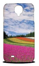 COLORFUL FLORAL FLOWER FIELD HARD CASE COVER FOR SAMSUNG GALAXY S4