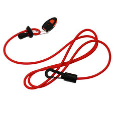 Kayak Canoe Paddle Leash Clip Fishing Rod Tether Holder & Whistle Accessories
