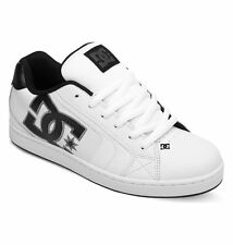 DC SHOES SKATE NET WHITE - BATTLESHIP 302361 HBW MENS UK SIZES 9 - 13
