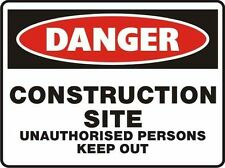 Danger Signs MOST TYPES Australian Standard AS1319 Safety Sign | AUTH. DEALER