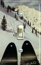 HEAD SKIS Vintage Ski Poster (single/double) Switch Plate***FREE SHIPPING***