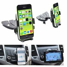 360 Car CD Slot Mount Cradle Holder Stand #D for GPS Smart Mobile Cell Phone New