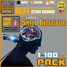 EVE Online 1-50 Skill Injector | PLEX and ISK | FAST & SAFE delivery! US