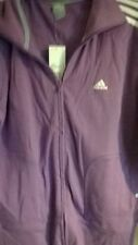 BNWT LADIES ADIDAS PURPLE TRACKSUIT TOP IN SIZE 22 ONLY