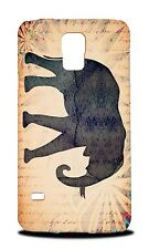 ELEPHANT WATERCOLOR ART #2 HARD CASE COVER FOR SAMSUNG GALAXY S5