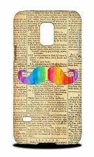 HIPSTER COLOURFUL MOUSTACHE #10 HARD CASE COVER FOR SAMSUNG GALAXY S5 MINI