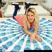 Fashion Chiffon Round Circle Beach Pool Swimming Bath Towel 150cm Yoga Mat