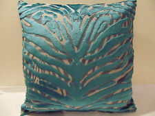 Designers Guild &Christian Lacroix Fabric Soft Pantigre-Turquoise Cushion Cover