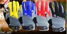 Giant Full Finger Cycling Gloves Mountain bike silicone breathable MTB sport