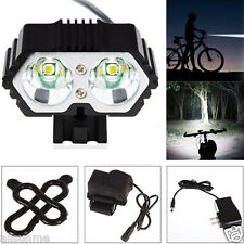 Super Brigh 6000LM CREE XM-L T6 LED Bicycle Torch Headlight+Battery+Charger Pack
