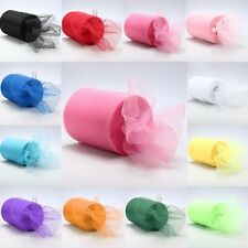"""6""""x 25yd Tulle Roll Spool Tutu Wedding Party Gift Fabric Craft Decorations Best"""