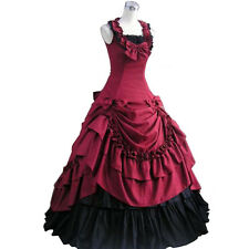 Victorian Costume Gothic Lolita Dress Palace Ball Gown Fancy Party Dress Adult