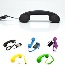 Unique Telephone 3.5mm Handset Phone Receiver For All Mobile phones Tablet PC