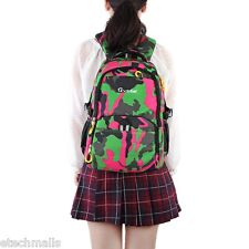 Trendy Print Waterproof Breathable Nylon Unisex Portable Outdoor Camouflage Bag