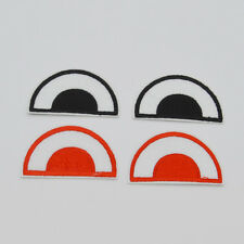 Cartoon Eyes Embroidery Iron on patch sewn For clothing applique backpack Motif