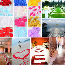 Top Quality 500pcs Rose Petals  Wedding Flower Petals  Simulation Of Petals   n