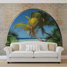 WALL MURAL PHOTO WALLPAPER XXL Beach Tropical Island Window View (2834WS)