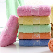 100% Cotton Solid Color towels Large Bath Sheet Bath Towel Hand Towel Face New