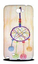 DREAM CATCHER CRAYON DRAWING HARD CASE COVER FOR SAMSUNG GALAXY NOTE 2