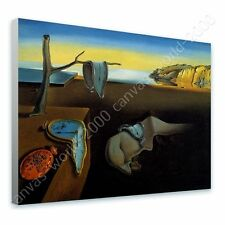 CANVAS +GIFT The Persistence Of Memory Melting Clock Salvador Dali Posters