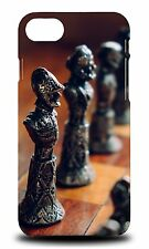 ELEGANT CHESS PIECE BOARD GAME #4 HARD CASE COVER FOR APPLE iPHONE 7