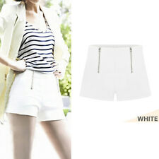 Summer Style Women Girl Hot Pants Casual Short Pants High Waist Zipper Shorts